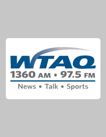WTAQ 1360 AM 97.5 FM