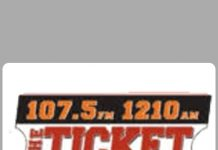 The Ticket Radio 107.5 FM